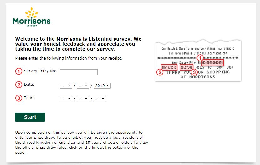 Morrisos Is Listening Survey